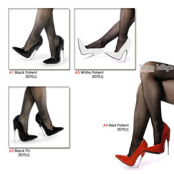 SCREAM 漆皮金屬包鞋馬靴.jpg