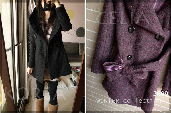 紫花苞領大衣-賣家照片2.jpg