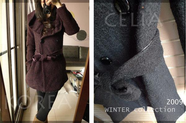 紫花苞領大衣-賣家照片3.jpg
