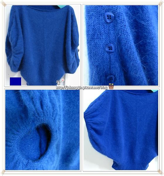 新年採購戰果-藍色蝴蝶袖針織衫A-700.jpg