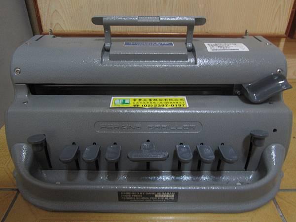 柏金斯點字機
