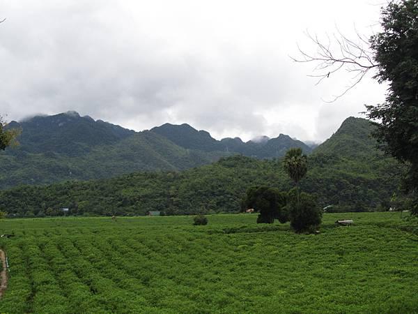 山的對面就是緬甸!