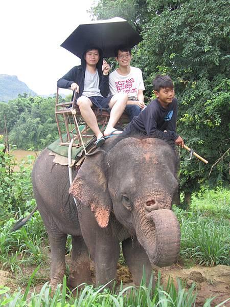 我和前毅哥哥,還有小象伕...