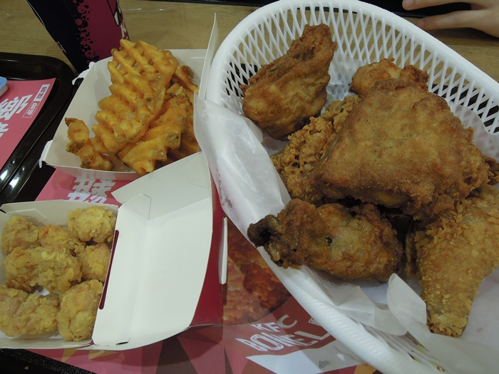 吃了KFC