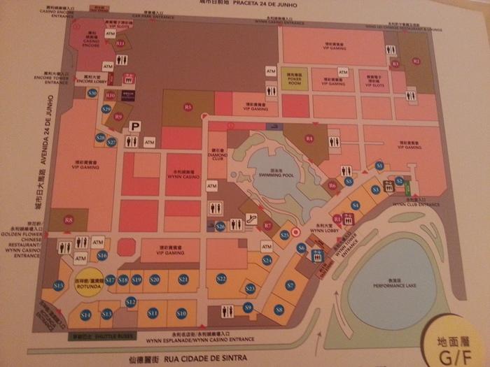 永利酒店平面圖