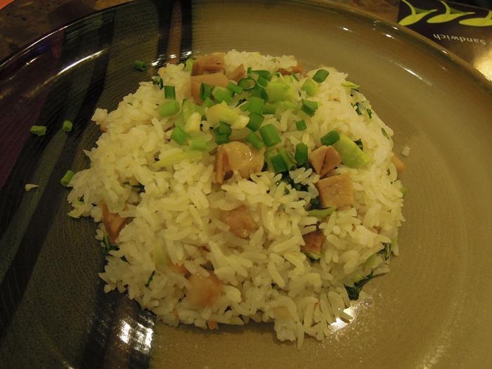 上海鹹肉炒飯