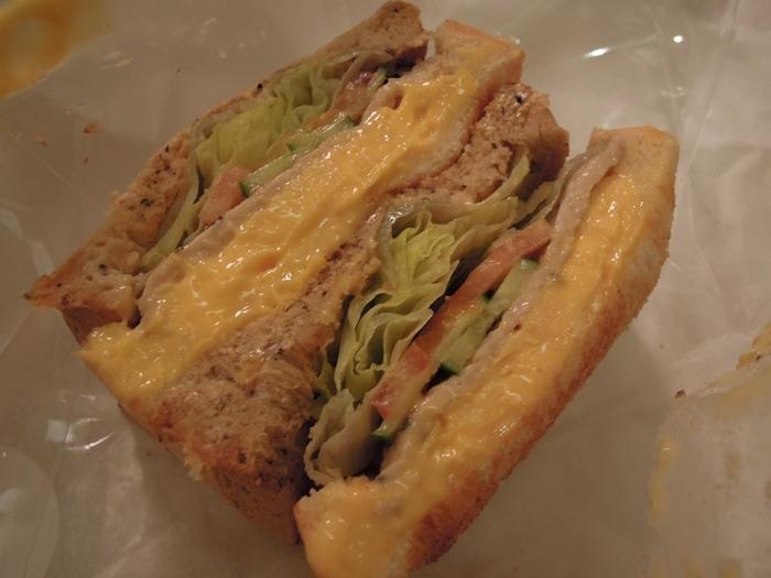 帕瑪森里肌三明治