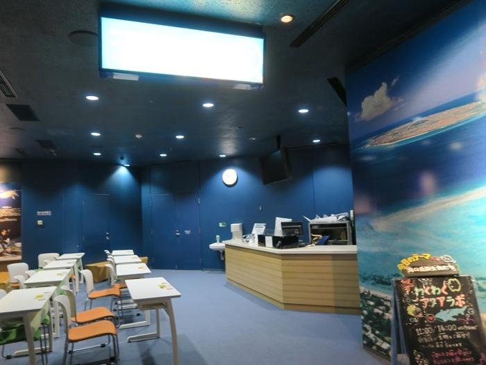 這邊有個海洋生物觀察教室
