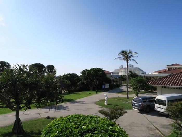 萬座海灘的停車場