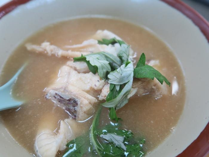 料多的魚湯