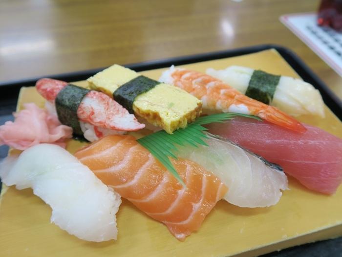 生魚片壽司們