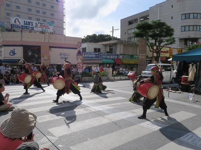 街上有表演