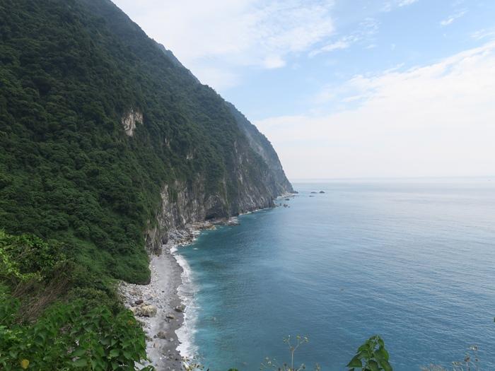 太平洋上的海崖