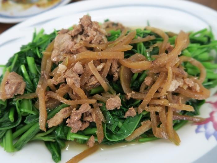 炒(燙)青菜