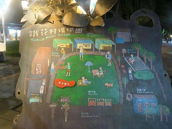 鐵花村場域圖