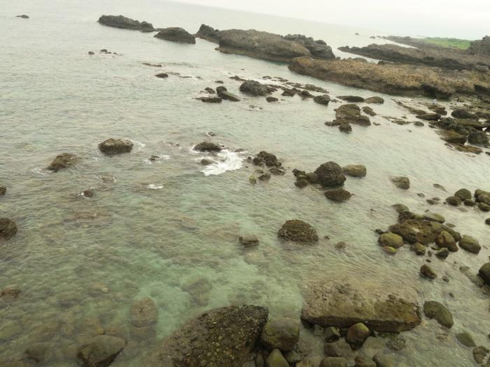 這邊也有珊瑚礁海岸