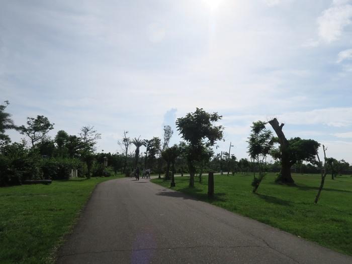 先往琵琶湖騎去