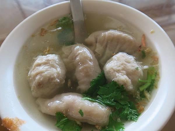 扁食(食燕)●丸湯 50元