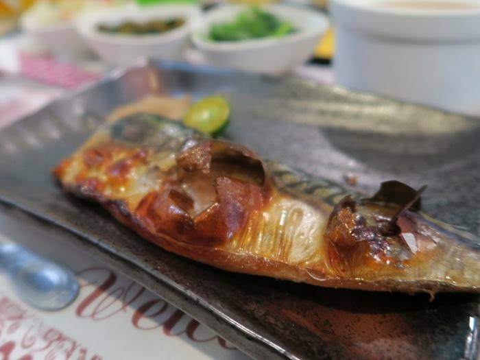 香烤鯖魚 250元