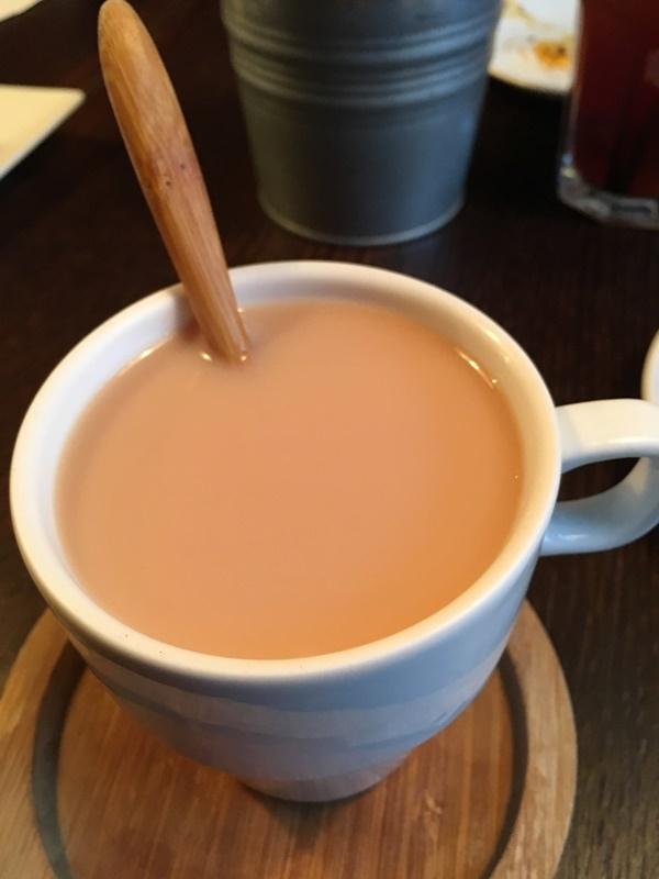 變身熱奶茶