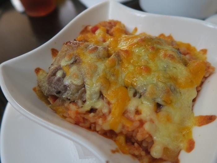 香煎松板豬燉飯(茄汁蕃茄)