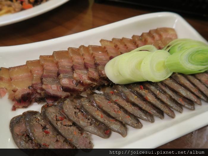 臘肉+臘腸
