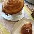 螺旋酥皮濃湯+美味麵包