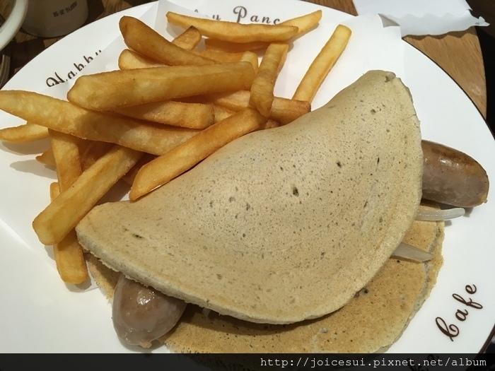 德式熱狗鬆餅卷