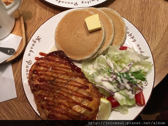 九州BBQ烤雞鬆餅