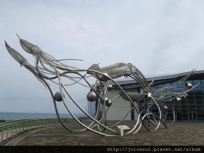 大門前的大王章魚