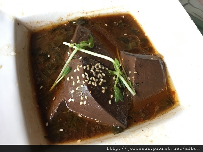 小菜-麻辣鴨血