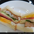 三明治有兩種口味