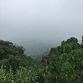 但霧很濃,看不到美麗的風景