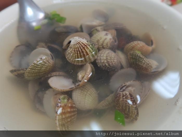 薑絲蛤蜊湯 60元