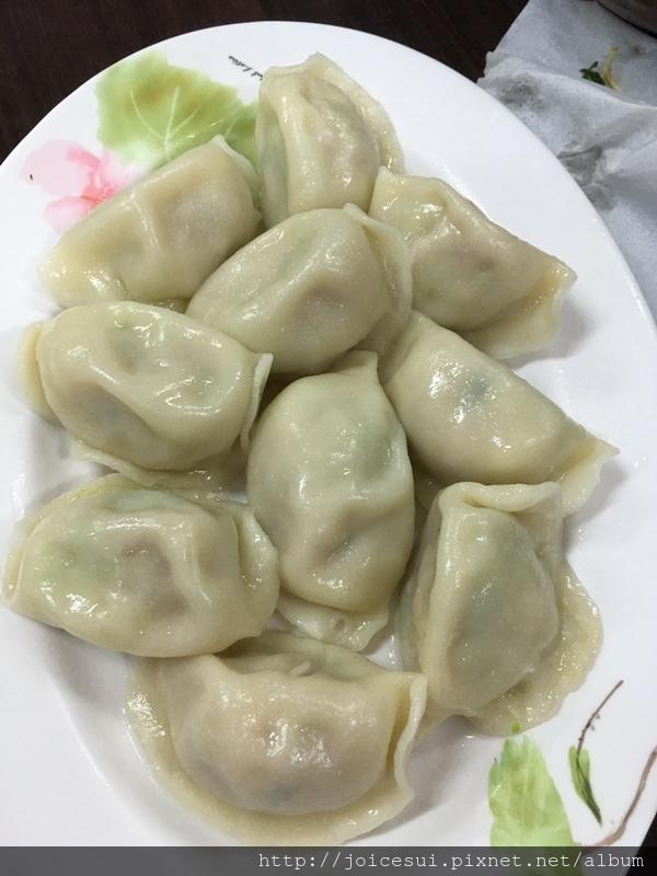 韮菜水餃10入 55元