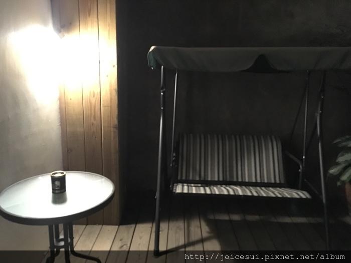 陽臺的搖椅