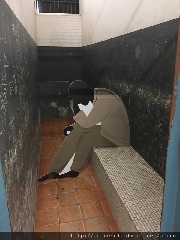 最裡面是廁所,很臭