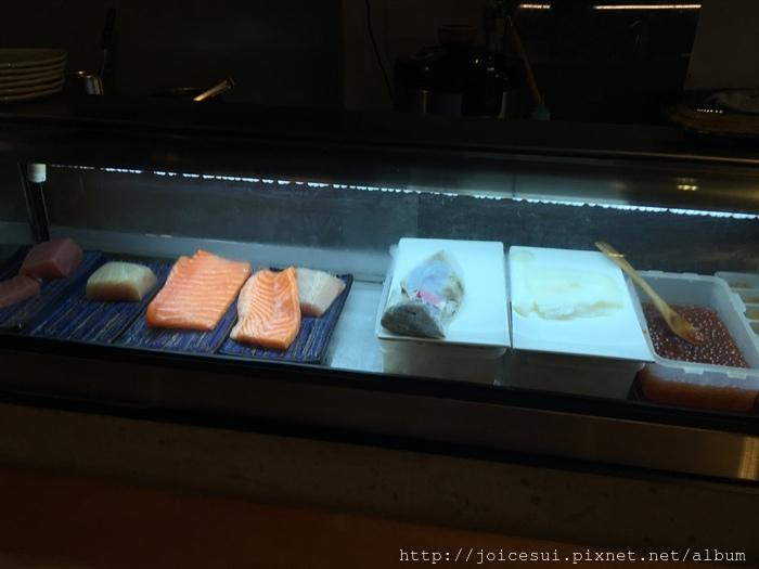 檯面上的新鮮食材