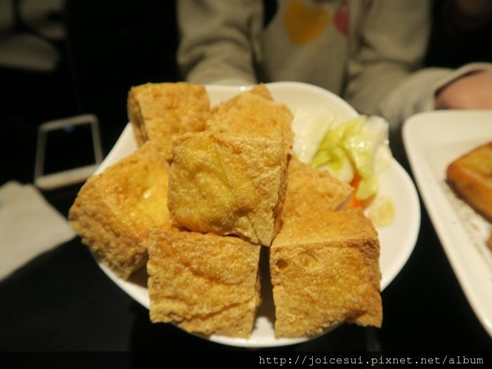 黃金炸豆腐 70元