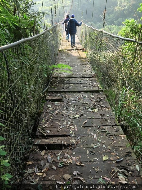 三號吊橋讓人有點怕怕的0.0