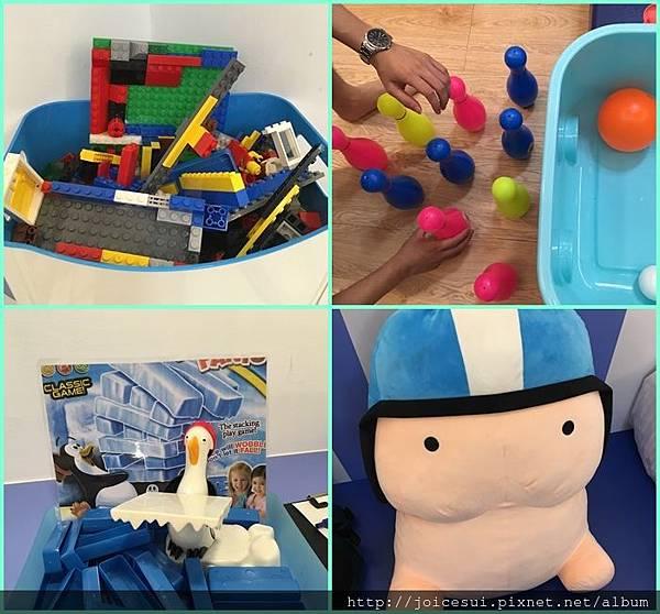 房間裡頭好多玩具
