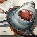 很3D的鯊魚