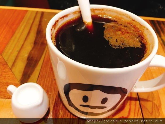 美式咖啡 附牛奶