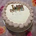 表妹做的蛋糕