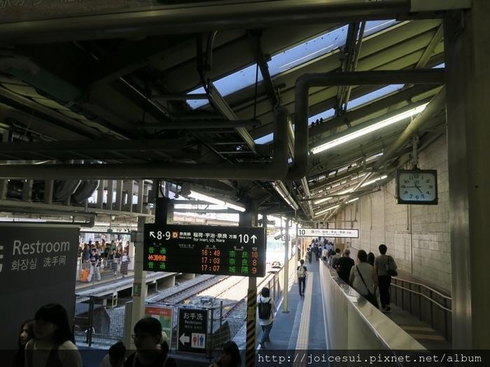 搭JR去東福寺站