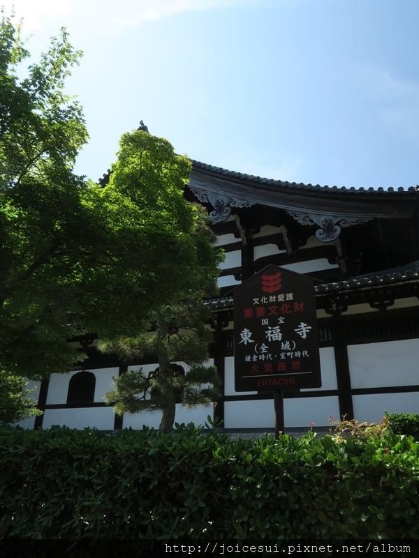 算是進入東福寺了~