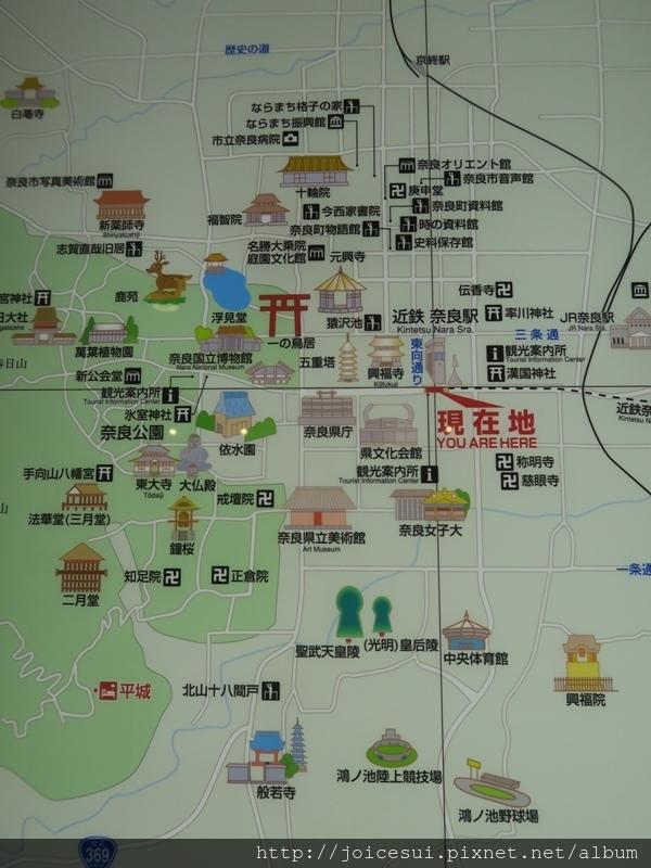附近的地圖