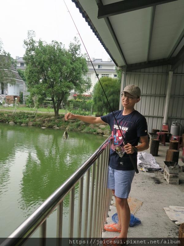 田田馬上開釣了