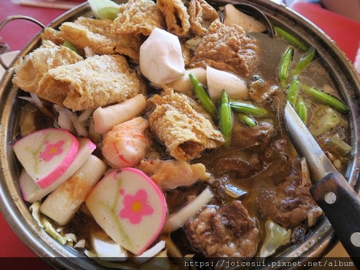 牛腩火鍋 350元
