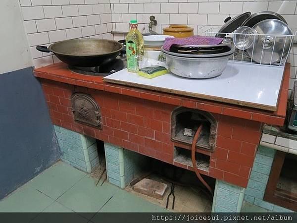 舊式的爐灶
